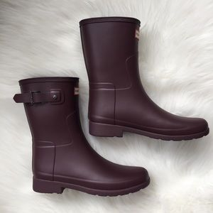 hunter boots   original short waterproof boot
